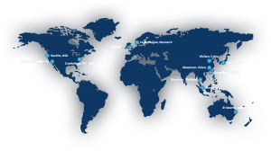 Map of BGI global locations